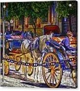 Carrage Waiting Acrylic Print