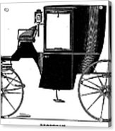 Carriage: Brougham Acrylic Print
