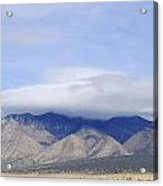 Carrizo Peak Lenticular Acrylic Print