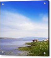 Carrowmore Lake, Co Mayo, Ireland Acrylic Print