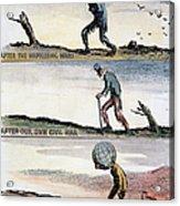 Cartoon: World Wars, 1932 Acrylic Print