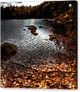 Cary Lake After The Storm Acrylic Print