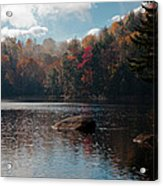 Cary Lake In The Adirondacks Acrylic Print