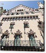 Casa Amatller Building Barcelona Acrylic Print by Matthias Hauser