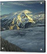 Cascade Mountain Banff Acrylic Print