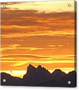Cascade Mountains Sunrise 1 Acrylic Print