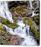 Cascades At Mingo Falls Acrylic Print