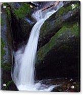 Cascading Angel Hair Acrylic Print