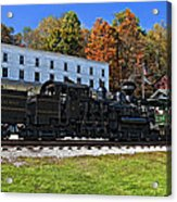 Cass Railway Wv Painted Acrylic Print