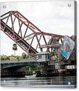 Cass St. Bridge Tampa Acrylic Print