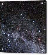 Cassiopeia And Cepheus Constellations Acrylic Print by Eckhard Slawik