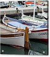 Cassis Harbor Acrylic Print