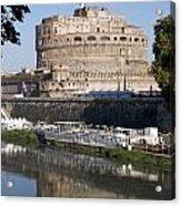 Castel Sant'angelo Castle. Rome Acrylic Print