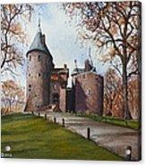 Castell Coch Acrylic Print