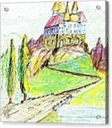Castile Castle Acrylic Print