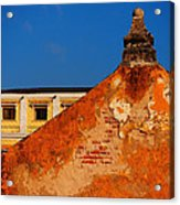 Castillo De Oro Acrylic Print by Skip Hunt
