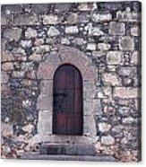 Castillo De San Gabriel At Arrecife Acrylic Print by Jouko Lehto