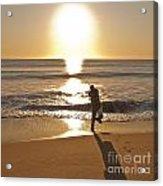 Casting To The Sun Acrylic Print