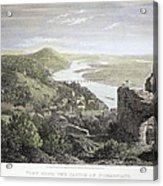 Castle Donaustauf, 1823 Acrylic Print