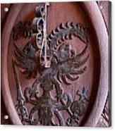 Castle Doorknocker Acrylic Print