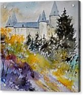 Castle Of Veves Belgium Acrylic Print