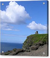 Castle On The Cliffs Of Moher Acrylic Print