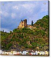 Castle On The Rhine Acrylic Print