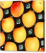 Castlebrite Apricot Acrylic Print by Photo Researchers