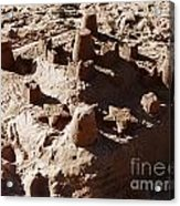 Castles Made Of Sand Acrylic Print by Xueling Zou