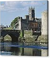 Castles, St Johns Castle, Co Limerick Acrylic Print
