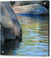 Castor River Reflections Acrylic Print