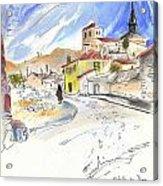 Castrillo De Duero In Spain 01 Acrylic Print