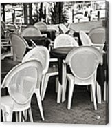 Casual Dining Acrylic Print