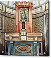 Cataldo Mission Altar - Idaho State Acrylic Print