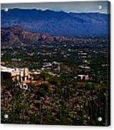 Catalina Foothills Homes Acrylic Print