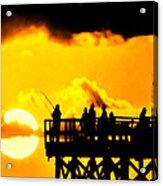 Catch A Sunset Acrylic Print