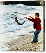 Catch And Release Acrylic Print