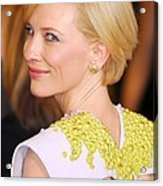 Cate Blanchett At Arrivals For The 83rd Acrylic Print by Everett