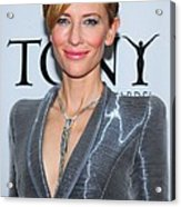 Cate Blanchett Wearing A Van Cleef & Acrylic Print
