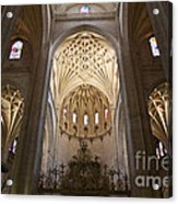 Catedral De Segovia Acrylic Print