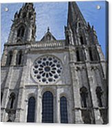 Cathedral At Chartres Acrylic Print