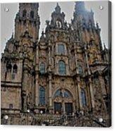 Cathedral At Santiago De Compostela Acrylic Print