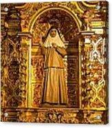 Cathedral De La Almudena Acrylic Print