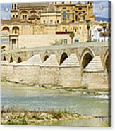 Cathedral Mosque In Cordoba Acrylic Print