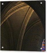 Cathedral Of Chartes Acrylic Print by Frits Selier