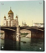 Cathedral Of Christ The Saviour - Moscow Russia Acrylic Print