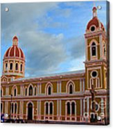 Cathedral On The Square Acrylic Print