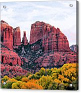 Cathedral Rock Acrylic Print