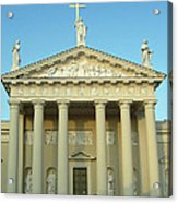 Cathedral. Vilnius. Lithuania Acrylic Print