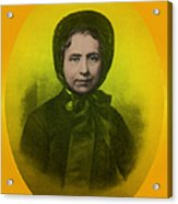 Catherine Booth, Co-founder Salvation Acrylic Print